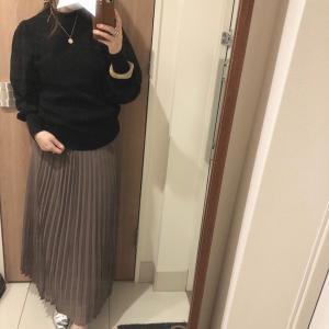 いつかのコーデ♡プリーツスカートコーデ