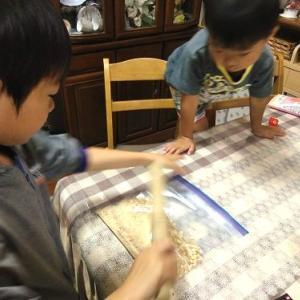 りゅう君9歳のバースデーケーキ