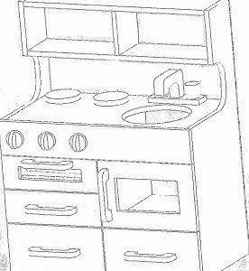 ままごとキッチン製作☆構想をねるねる。
