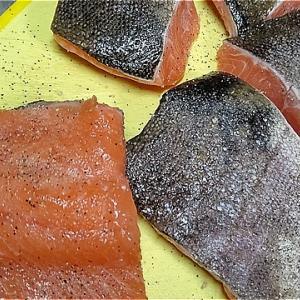 ブランドトラウト「頂鱒」で美味しいムニエルを作る・2 おからパウダー