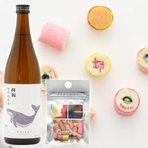 """""""日本酒×おつまみキャンディ"""" 「酔鯨 特別純米酒×PAPABUBBLE(パパブブレ)キャンディセット」@西寅"""