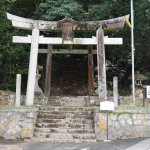 天橋立を望む丹後八幡山城跡。 その1 <八幡神社~段曲輪群>