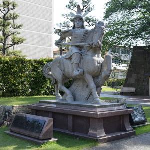 越前松平家の福井城跡を歩く。 その2 ~結城秀康~