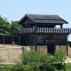 桃太郎伝説の地、鬼ノ城跡を歩く。 その2 <西門>