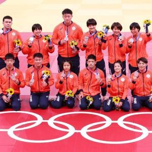 東京オリンピック前半戦、柔道と競泳が終了。