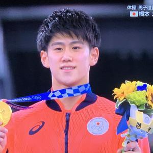 体操男子・橋本大輝選手の2冠と、女子ボクシング・入江聖奈選手の金メダルに歓喜!