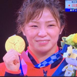 レスリング川井友香子選手の金メダル、男子卓球団体の惜敗、スケボー女子のワンツー!