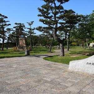 犬走りの代表的な城、岸和田城攻城記。 その3 ~二ノ丸~