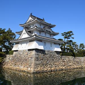 海に浮かぶ要塞、讃岐高松城を歩く。 その1 <艮櫓、旭橋、旭門、桜の馬場>