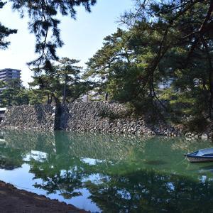 海に浮かぶ要塞、讃岐高松城を歩く。 その4 <水門、鉄門、二ノ丸>