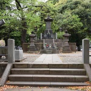 上野戦争に散った彰義隊の墓
