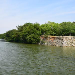 築城400周年の明石城を歩く。 その1 <中濠、東不明門、西不明門>