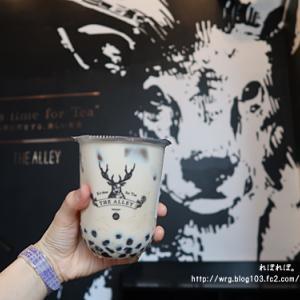 【神戸グルメ】 台湾発の人気ティースタンド 『 THE  ALLEY 』 のタピオカミルクティー