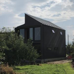 飯坂の家、竣工間近です。