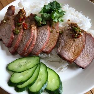 焼き豚ご飯。