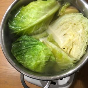 塩胡椒で煮込んだら、なんでもおいしくなります。