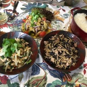 タイ料理のお惣菜。