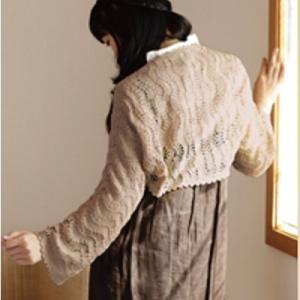 無料編み図ショール☆季節の変わり目に嬉しいマーガレットにもなるショール