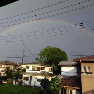 2021年 7月の虹