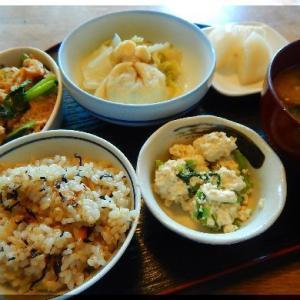銀杏入り巾着の白菜煮~ザ・和食