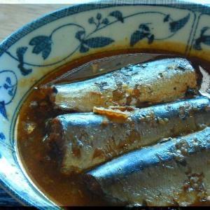 秋刀魚の生姜煮~旬がきます!