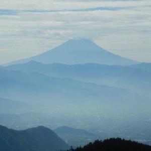 乾徳山で復活!~2ヶ月ぶりの山