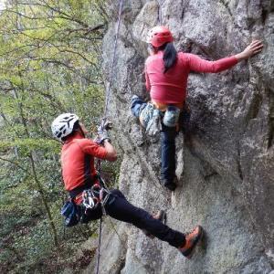 クライミングウィーク~3つの岩場を登る
