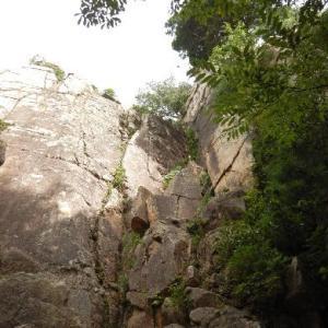 久しぶりのクライミング~六甲山・保塁岩