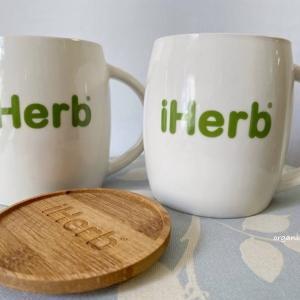 iHerbのオリジナルマグカップが、ちょうどよい大きさでお気に入り!