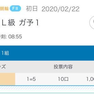 2月22日の結果!!西武園競輪!!静岡記念!!