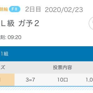 2月23日の結果!!西武園競輪!!フェブラリーS
