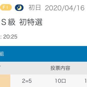 4月16日の結果!!玉野競輪!!