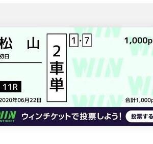 6月22日の狙い打ち!!松山競輪!!