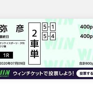7月9日の結果!!弥彦競輪!!