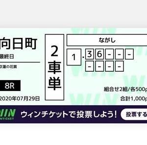 7月29日の結果!!向日町競輪!高松競輪!