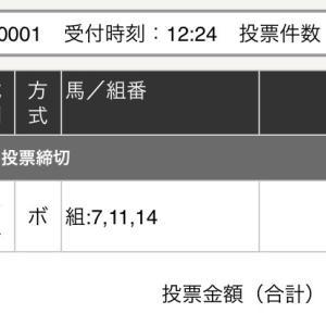 10月7日の結果!!東京盃
