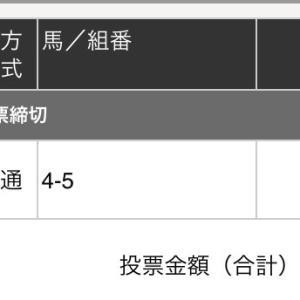 1月20日の狙い打ち!!本命編1