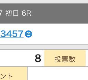 6月17日の結果!!3連単編!