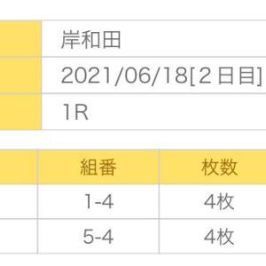 6月18日の狙い打ち!!3連単編!