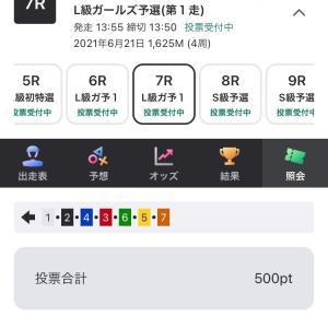 6月21日の結果!!追撃編!!