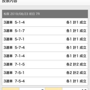 8月23日の狙い打ち!!松阪競輪!!