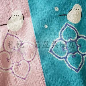 お値段以上それ以上!? 59kimono 島屋オリジナルシマエナガ柄は5月9日までの受付です!