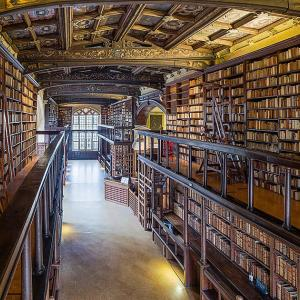 Oxford:Duke Humfrey's medieval library