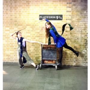 Platform 9 3/4 by Harry Potter