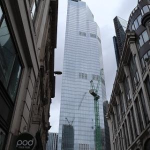 ロンドンの金融街 Bank♪