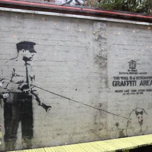 London Banksy 巡り❤ Ⅰ