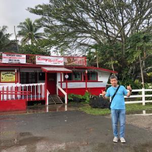 HAWAII・その7「ロケ地のレストランでちょっと気取ってみる」
