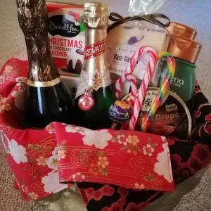 手作りハンパー再び☆(ウクレレdeクリスマス・イブ)