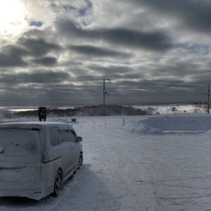 3月も雪が降る