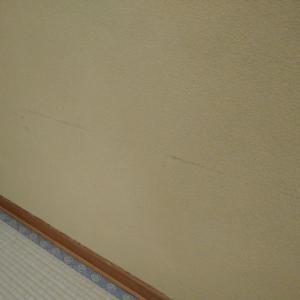 土壁の塗り替えをしました!